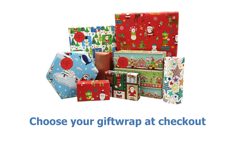 Choose Your Giftwrap At Checkout
