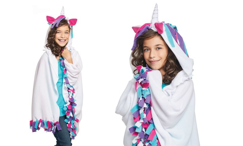 make your own unicorn hoodie