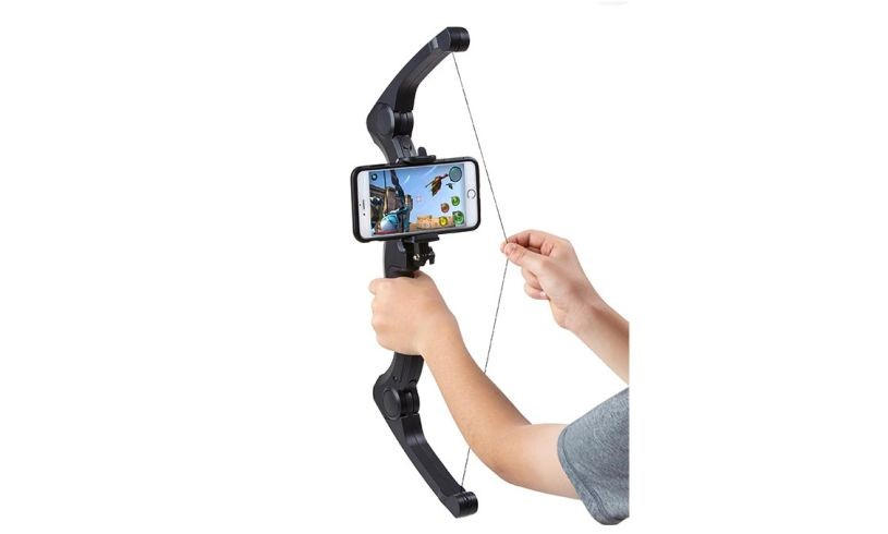 Test your archery skills safely and indoors with the Upshot Smart Bow and Arrow Gaming System