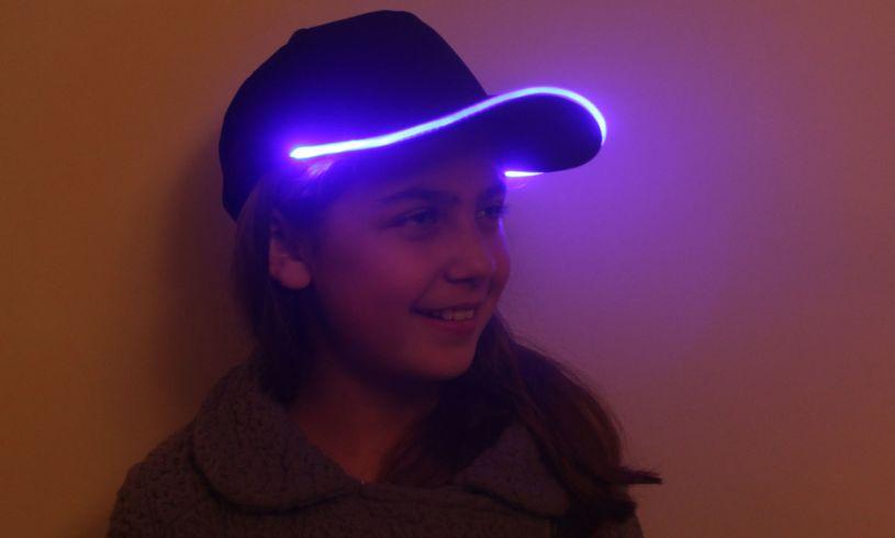 Modelling the flashing LED cap