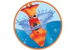 Aqua Diver's timer starts on hitting water