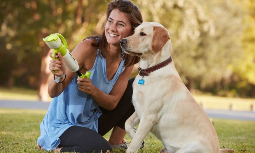 dog gone tennis ball blaster toy for kids and dogs
