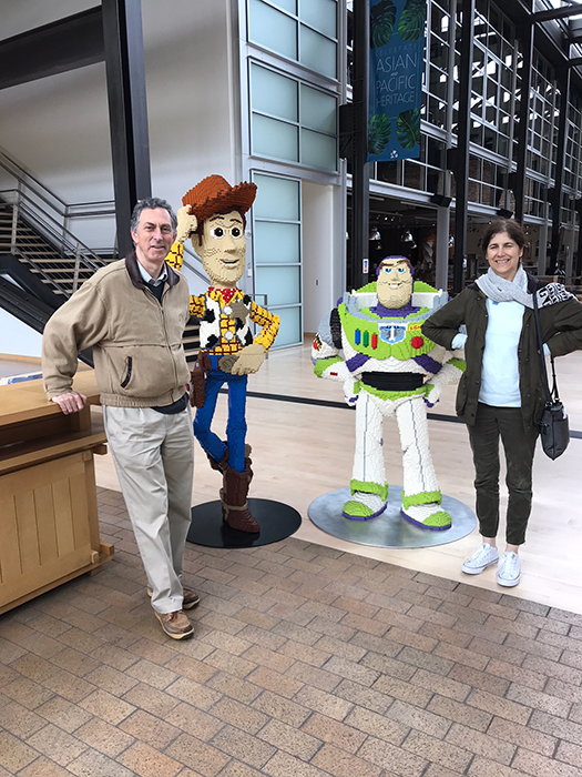 a visit to pixar