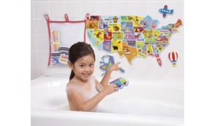 USA Map - stay patriotic in the tub!