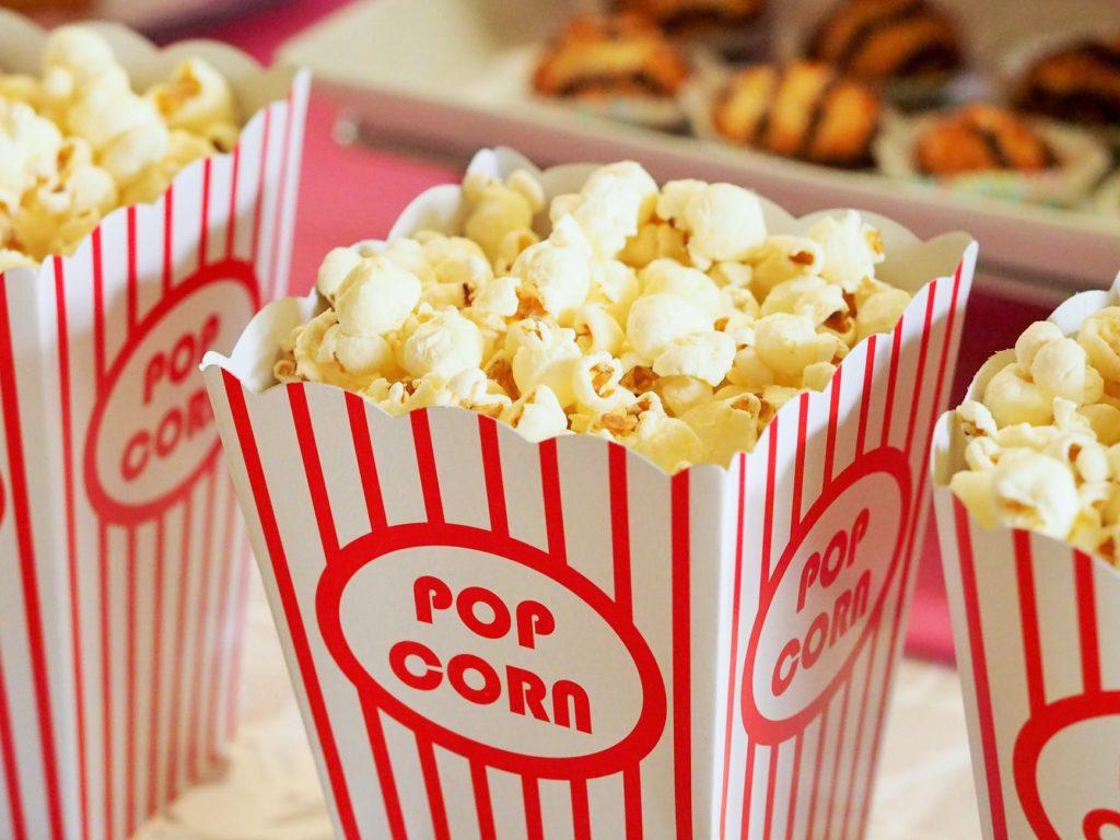 Box of Popcorn - courtesy Pexels.com