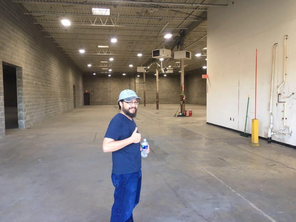 Huge new warehouse in Beltsville