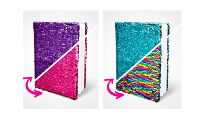 Shimmer flip journal